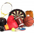 Sports and Games Arrangement - Stock Photo