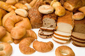 Various Types of Bread — Stockfoto