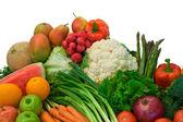 Fruits and Veggies — Stock Photo