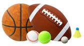 Sports Balls — Stock Photo