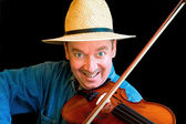 Fiddle Player — Stock Photo