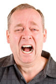 Screaming for Help — Stock Photo