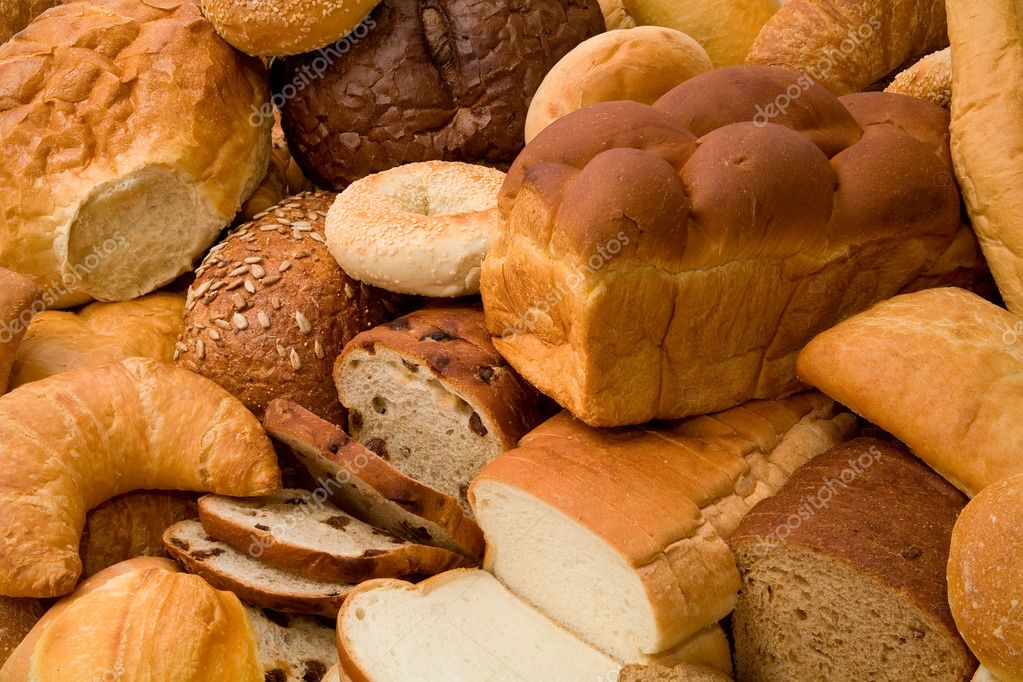 This is a close-up of various types of bread. — Stock Photo #2395731
