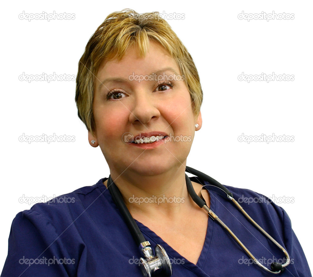 A nurse is smiling to the camera. — Stock Photo #2399732