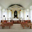 18th century chapel interior — Stock Photo