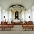 18th Century Chapel Interior - Stock Photo