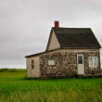 lilla huset — Stockfoto