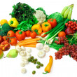 Vegetables and Fruits Arrangement - Foto de Stock  