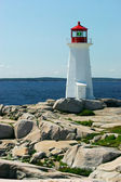 Peggy's Cove Lighthouse — Stok fotoğraf