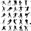 Royalty-Free Stock Vectorafbeeldingen: Sport collection