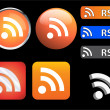 RSS icons — Stockvektor #1985175