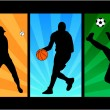 Royalty-Free Stock Vectorafbeeldingen: Sport mix
