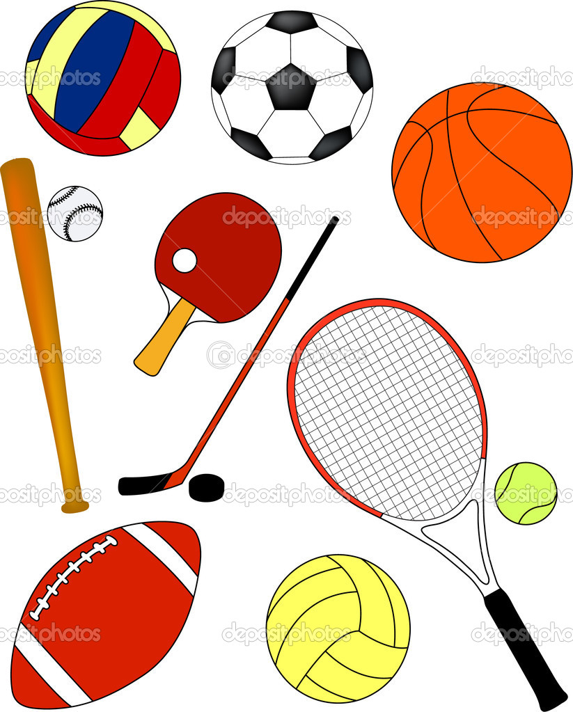 Рисуем спортивные