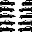 Stock Vector: Cars collection