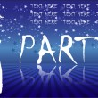 Party  template — Image vectorielle