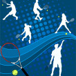 Royalty-Free Stock Vector Image: Tennis
