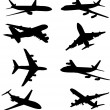 Royalty-Free Stock Vectorielle: Airplanes