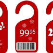 Sale and discount labels - Stockvectorbeeld