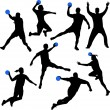 Handball - Stock Vector