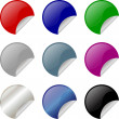 Colorful stickers — Stock Vector #2367025