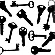 Keys — Vector de stock #2545736