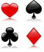 Trajes de tarjeta — Vector de stock