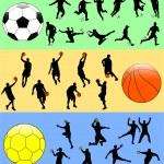 sportowe mix — Wektor stockowy  #2578514