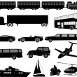 Transportation — Stockvector #2579291