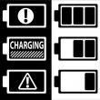 Battery symbol — Image vectorielle