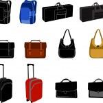 Bags — Stock Vector