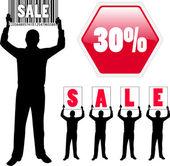 Concepto de venta — Vector de stock