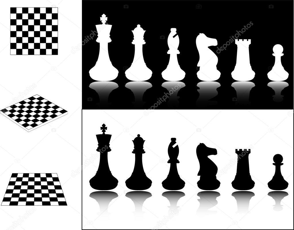 Рисунки фигур шахматных