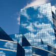 Glass Building in Blue - Stock Photo