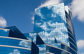 Glass Building in Blue — Stock Photo