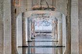 Ingelijst graffiti — Stockfoto