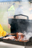 Grilling — Stock Photo