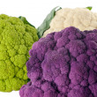 Stock Photo: Colorful Cauliflower