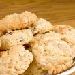 Stock Photo: Oatmeal Chocolate Chip Cookie