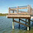 Fishing Dock - Stock Photo