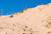 Sand and Blue Sky — Stock Photo