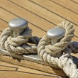Stock Photo: Mooring rope