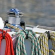 Stock Photo: Coloured ropes