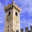 Old clock tower — Stockfoto