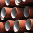 Red pipes — Stock Photo #1977417