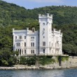 Trieste (Italy), Miramare Castle - Foto Stock