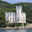 Trieste (Italy), Miramare Castle - Stock Photo