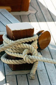 Mooring rope — Stock Photo