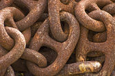 Links of a chain — Stockfoto