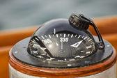 Kompas łódź — Zdjęcie stockowe