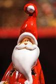 Santa Claus statuette — Stock Photo
